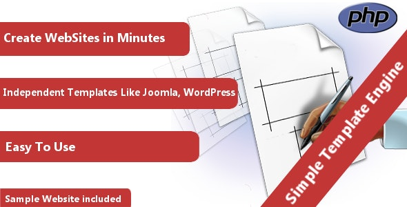Simple Template Engine - CodeCanyon Item for Sale