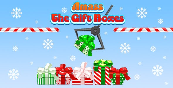 Amass The Gift Boxes (CAPX and HTML5) Christmas Game