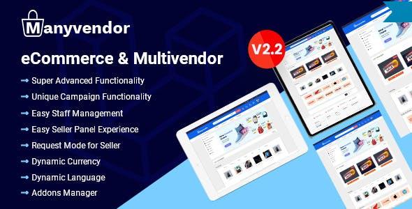 Manyvendor - eCommerce & Multi-vendor CMS