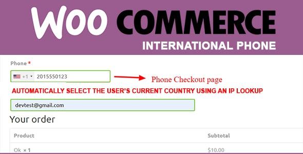 WooCommerce International Phone Masking - CodeCanyon Item for Sale