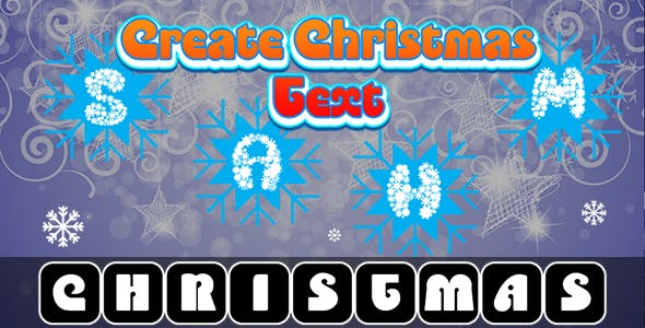 Create Christmas Text (CAPX and HTML5) Christmas Game