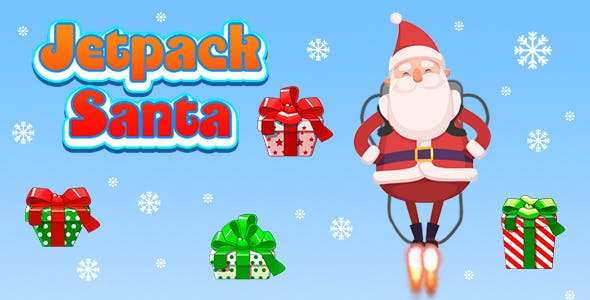 Jetpack Santa (CAPX and HTML5) Christmas Game