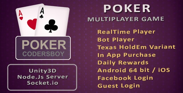 Poker Online Multiplayer Game - CodeCanyon Item for Sale