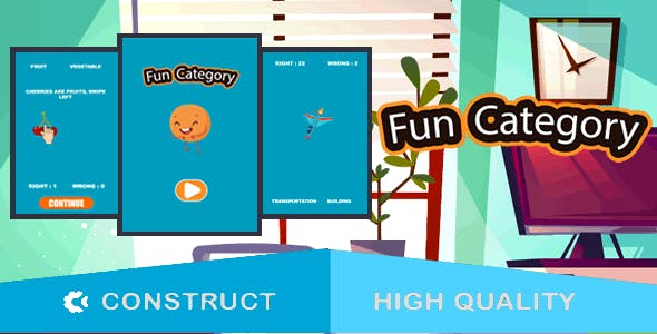 Fun Category - HTML5 Game (capx)