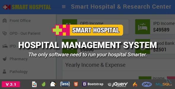Smart Hospital : Hospital Management System - CodeCanyon Item for Sale