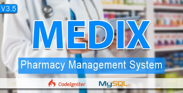 Medix  The Pharmacy POS & Management System - CodeCanyon Item for Sale