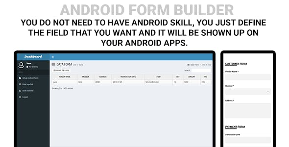 Android Form Builder
