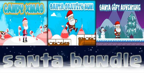 Santa bundle - 3 games - CodeCanyon Item for Sale