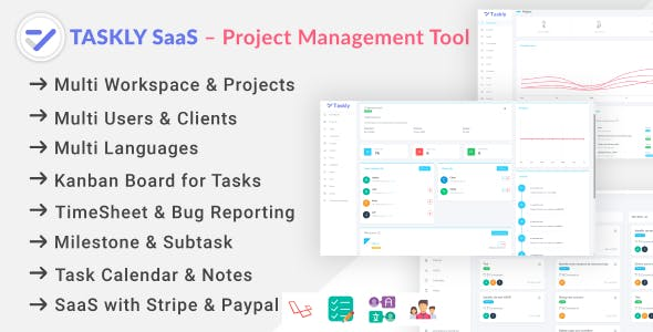 TASKLY SaaS – Project Management Tool