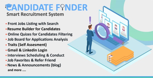 Candidate Finder - Smart Recruitment System - CodeCanyon Item for Sale