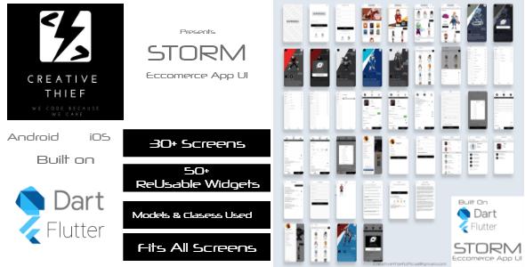STORM Ecommerce UI/UX Kit