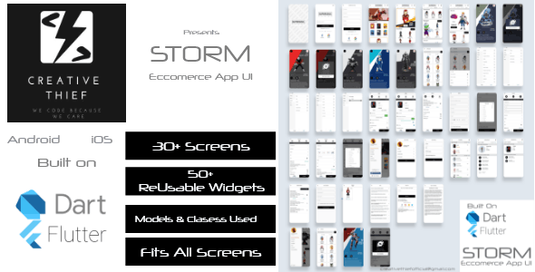 STORM Ecommerce UI/UX Kit - CodeCanyon Item for Sale