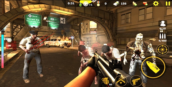 Zombie Shooter Survival killer 3D Unity Game - CodeCanyon Item for Sale