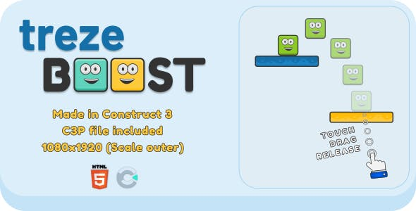trezeBoost - HTML5 Casual Game
