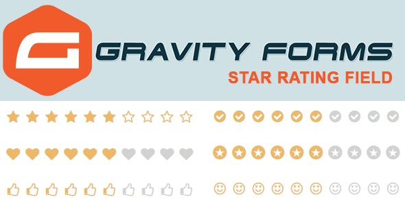 Gravity Forms Star Rating Field - CodeCanyon Item for Sale