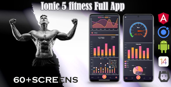 Ionic 5 / Angular 11 Fitness  Template/Full App | Starter App - CodeCanyon Item for Sale