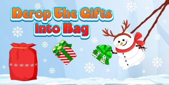 Drop The Gifts into Bag (CAPX and HTML5) Christmas Game - CodeCanyon Item for Sale