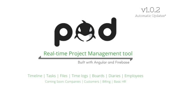 POD - Angular Project Management Software