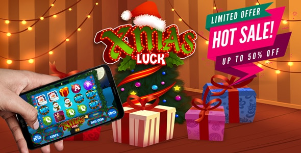 Xmas Slot Machine - 50% OFF FOR FIRST BUYERS - CodeCanyon Item for Sale
