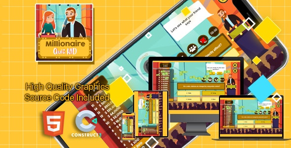 Millionaire Quiz Kid - CodeCanyon Item for Sale