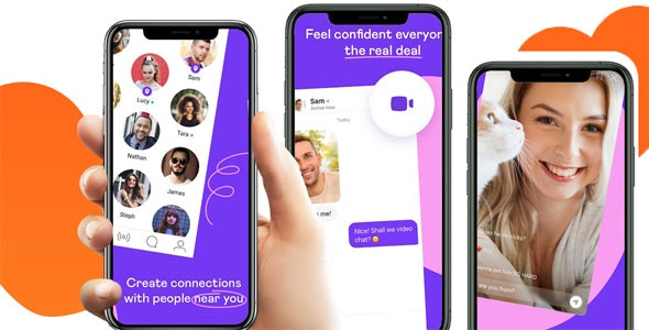 Qyou - Android Native Dating App with Audio Video Calls and Live Streaming - CodeCanyon Item for Sale