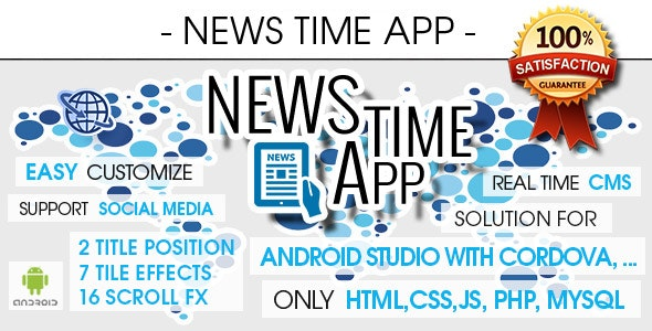 News App With CMS & Push Notifications - Android [ 2021 Edition ] - CodeCanyon Item for Sale