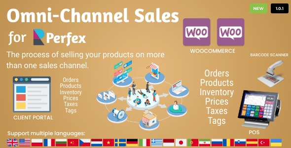 Omni Channel Sales for Perfex CRM - CodeCanyon Item for Sale