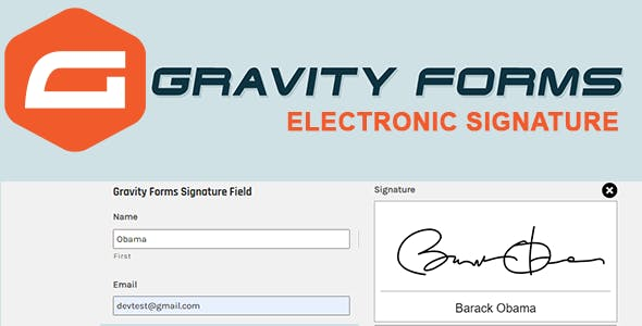 Gravity Forms Digital  Signature