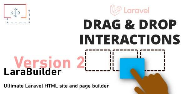 LaraBuilder - Laravel Drag&Drop SaaS HTML site builder