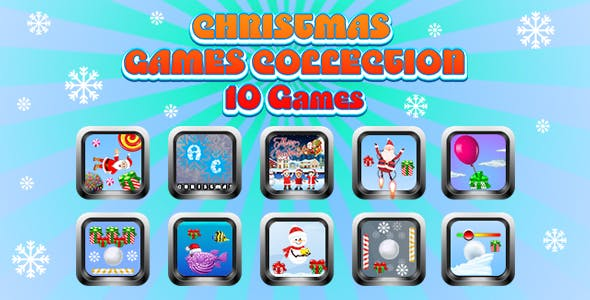 Game Collection 11 (CAPX and HTML5) 10 Games for Christmas
