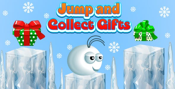 Jump and Collect Gifts (CAPX and HTML5) Christmas Game