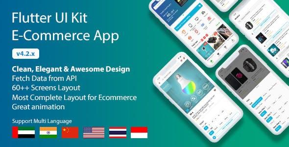 Flutter UI Kit - E-Commerce App
