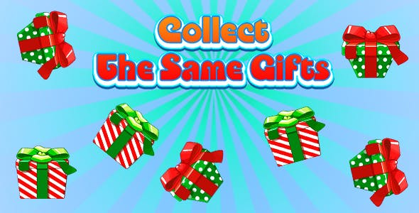 Collect The Same Gifts (CAPX and HTML5) Christmas Game