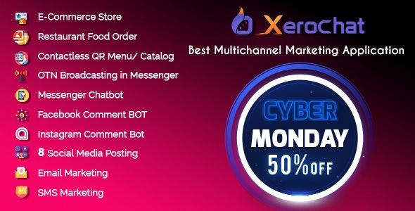 XeroChat - Best Multichannel Marketing Application (SaaS Platform) - CodeCanyon Item for Sale