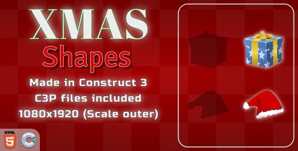Xmas Shapes - HTML5 Casual game