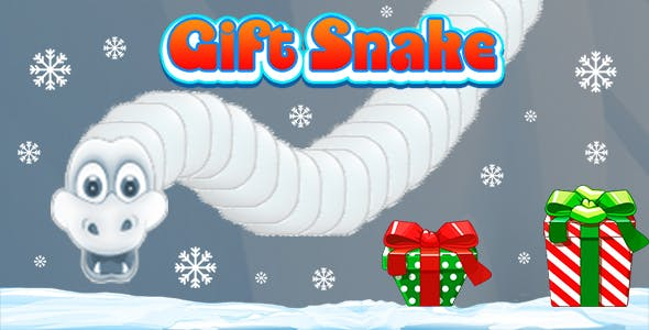 Gifts Snake (CAPX and HTML5) Christmas Game