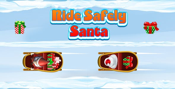 Ride Safely Santa (CAPX and HTML5) Christmas Game