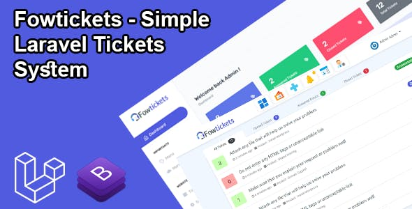 Fowtickets - Simple Laravel Tickets System