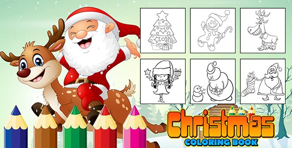 Christmas Coloring Book (CAPX and HTML5) - CodeCanyon Item for Sale