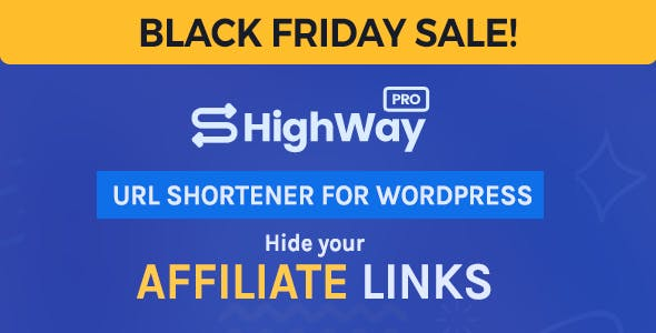 HighWayPro - URL Shortener & Link Cloaker for WordPress
