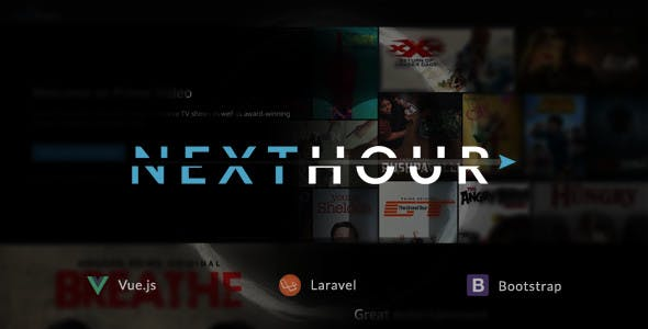 Next Hour - Movie Tv Show & Video Subscription Portal Cms