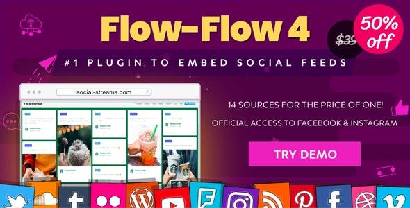 Facebook Instagram Twitter Feed — WordPress Social Feed Grid Gallery Plugin - CodeCanyon Item for Sale