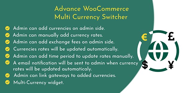 Advance WooCommerce Multi Currency Switcher