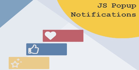 JS Popup Notifications - CodeCanyon Item for Sale