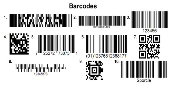 Softweb Barcodes Generator