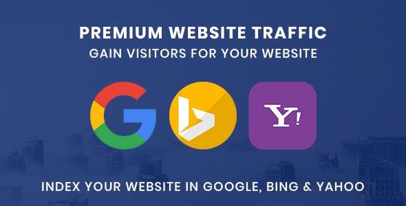 Premium Website Traffic 3.0 | Gain visitors for your website