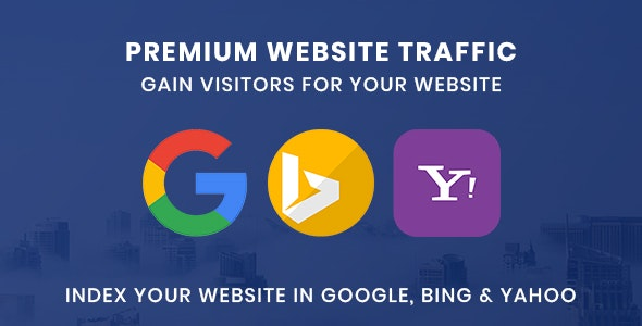 Premium Website Traffic 3.0 | Gain visitors for your website - CodeCanyon Item for Sale