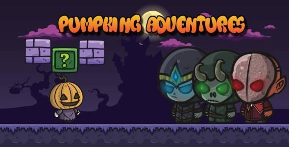 Pumpkin Halloween Adventures - Android Studio