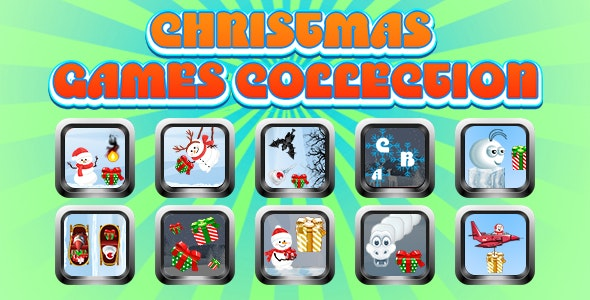 Game Collection 12 (CAPX and HTML5) 10 Games for Christmas - CodeCanyon Item for Sale