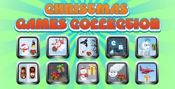 Game Collection 12 (CAPX and HTML5) 10 Games for Christmas